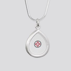 Circled Red Cross Necklaces