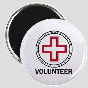 Volunteer Red Cross Magnets