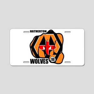 Hatherton Arms Wolves Engla Aluminum License Plate