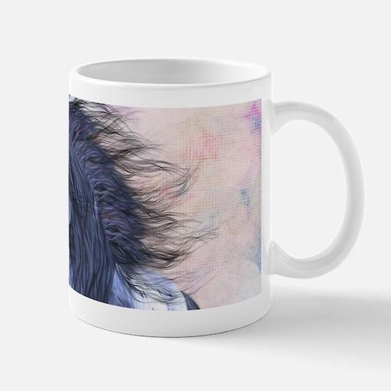 Blue Unicorn 3 Mugs