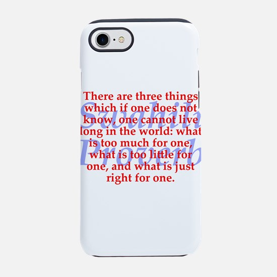 There Are Three Things iPhone 7 Tough Case
