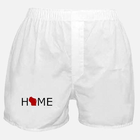 Cute Wisconsin Boxer Shorts
