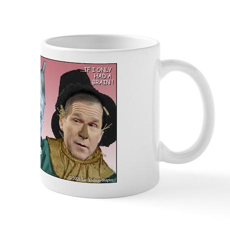 Bush/Cheney Oz Parody Mug
