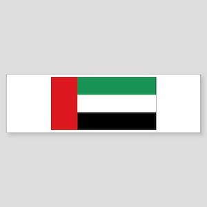 Flag United Arab Emirates Bumper Sticker