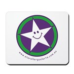 Star Allergy Alerts - logo Mousepad