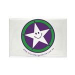 Star Allergy Alerts - logo Rectangle Magnet (100 p