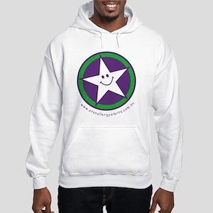 Star Allergy Alerts - logo Hooded Sweatshirt