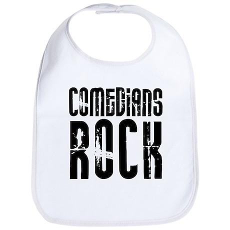 Comedians Rock Bib