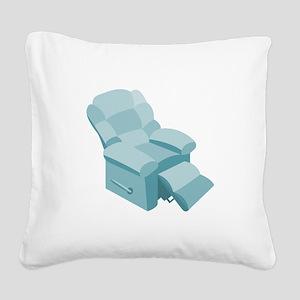 Recliner Square Canvas Pillow