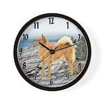 Finnish Spitz Wall Clock