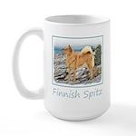 Finnish Spitz 15 oz Ceramic Large Mug