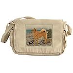 Finnish Spitz Messenger Bag