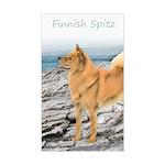 Finnish Spitz Sticker (Rectangle)