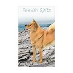 Finnish Spitz Sticker (Rectangle 10 pk)