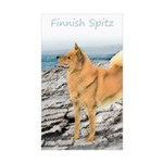 Finnish Spitz Sticker (Rectangle 50 pk)