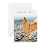 Finnish Spitz Greeting Card