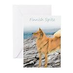 Finnish Spitz Greeting Cards (Pk of 20)