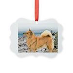 Finnish Spitz Picture Ornament