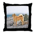 Finnish Spitz Throw Pillow