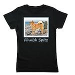 Finnish Spitz Girl's Tee
