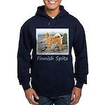 Finnish Spitz Hoodie (dark)