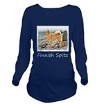 Finnish Spitz Long Sleeve Maternity T-Shirt