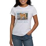 Finnish Spitz Women's Classic White T-Shirt