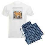 Finnish Spitz Men's Light Pajamas