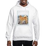 Finnish Spitz Hooded Sweatshirt