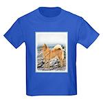Finnish Spitz Kids Dark T-Shirt