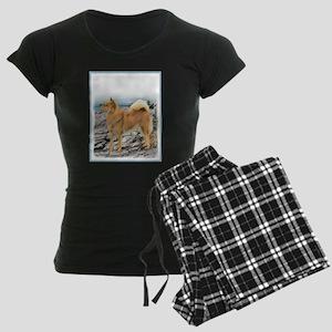 Finnish Spitz Women's Dark Pajamas