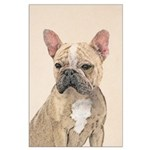 French Bulldog (Sable) Large Poster