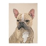 French Bulldog (Sable) 5'x7'Area Rug