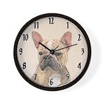 French Bulldog (Sable) Wall Clock