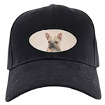 French Bulldog (Sable) Black Cap with Patch