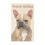 French Bulldog (Sable) Sticker (Rectangle)