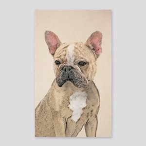 French Bulldog (Sable) Area Rug