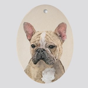 French Bulldog (Sable) Oval Ornament