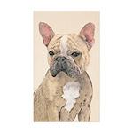 French Bulldog (Sable) Sticker (Rectangle 10 pk)