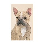 French Bulldog (Sable) Sticker (Rectangle 50 pk)