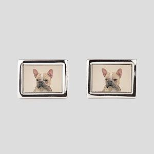 French Bulldog (Sable) Rectangular Cufflinks