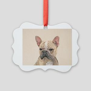 French Bulldog (Sable) Picture Ornament
