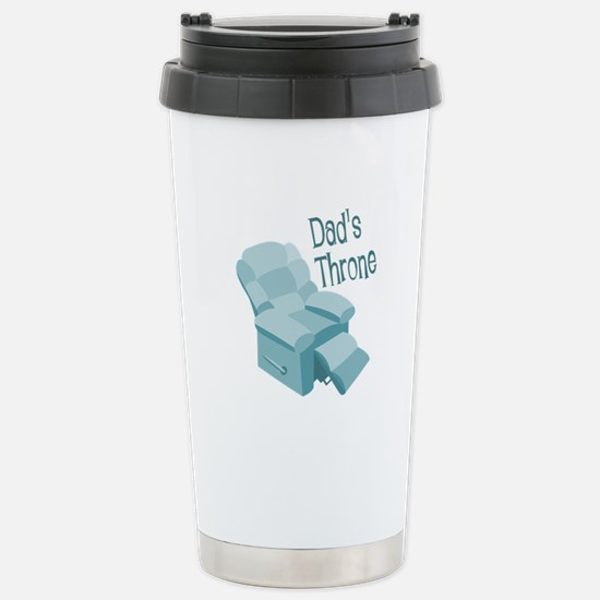 Dad's Throne Travel Mug