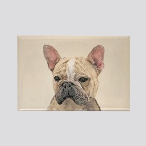 French Bulldog (Sable) Rectangle Magnet