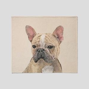 French Bulldog (Sable) Throw Blanket