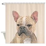 French Bulldog (Sable) Shower Curtain