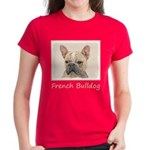 French Bulldog (Sable) Women's Dark T-Shirt