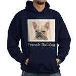 French Bulldog (Sable) Hoodie (dark)