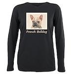 French Bulldog (Sable) Plus Size Long Sleeve Tee