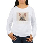 French Bulldog (Sable) Women's Long Sleeve T-Shirt